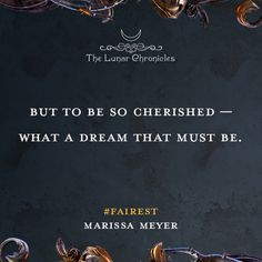 Quote from FAIREST by Marissa Meyer