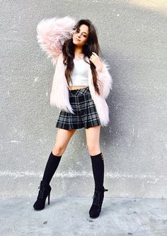 It's pretty clear Camila Cabello is a risk taker when it comes to her style. The Fifth Harmony singer may only be but she is a total. Fifth Harmony, Woman Crush, Her Style, American Apparel, My Girl, Sexy, Celebrity Style, Cute Outfits, Celebs