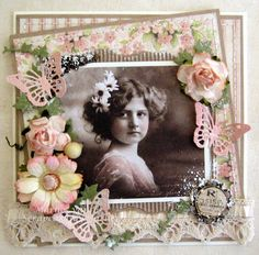 Scrapcards by Marlies: Nog even in de vintage sfeer