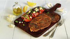 En bris fra Middelhavet, med norsk lam i god kombinasjon med en smakfull salat med tomat, oliven, mynte og fetaost.