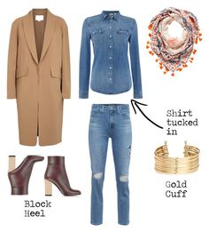 """""""Fun day look"""" by franciscobarragan on Polyvore featuring AG Adriano Goldschmied, Levi's, Alexander Wang, Marni and H&M"""