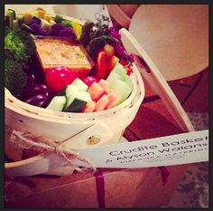 Crudite basket- great for parties