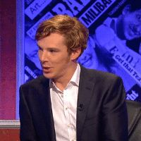 "GIF OF THE DAY!! 26 July 2012: Benedict Cumberbatch being adorable. Not by me All ""gifs of the day"" here :)"