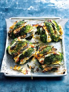 Sage and halloumi roasted broccoli with caramelised leeks This low calorie recipe is easy to prepare and the delicious combination of broccoli, halloumi slices and caramelised onions makes this a winning dish Veggie Recipes, Cooking Recipes, Healthy Recipes, Sage Recipes, Lasagna Recipes, Cod Recipes, Carrot Recipes, Eggplant Recipes, Broccoli Recipes
