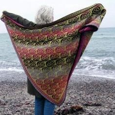 Wrap and shawl knitting patterns from easy patterns to cables, lace, and mitered squares . Knit Cowl, Knitted Shawls, Crochet Shawl, Knit Crochet, Shawl Patterns, Knitting Patterns, Crochet Patterns, Wrap Pattern, Fair Isle Knitting
