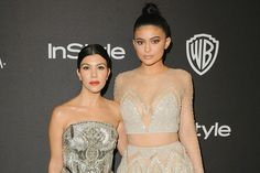 Kylie with Kourtney