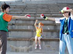 Pokemon Ash Ketchum, Ash Pokemon, Pokemon Costumes, Royal Blue, Cosplay