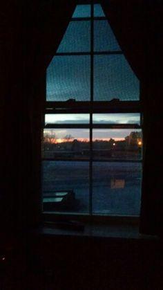 Rooftop sunset keysville Va