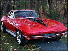 1963 Chevrolet Corvette Resto Mod 427/632 HP, 5-Speed #Mecum #Kissimmee #WhereTheCarsAre
