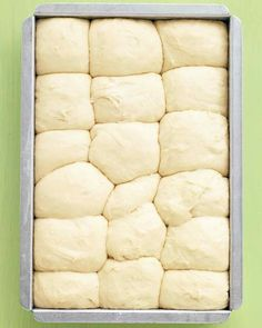 Martha Stewart Make Ahead No-Knead Dinner Rolls. Can be made up to 24 hours ahead and refrigerated.