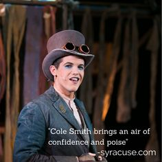 Cole Smith as the Artful Dodger photo by Genevieve Fridley