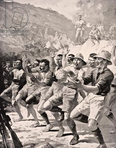 Maori Soldiers Perform A Haka At Gaba Tepe On The Gallipoli Peninsula Turkey 1915 From The War Illustrated Album Deluxe Published London 1916 Canvas Art - Ken Welsh Design Pics x History Images, Art History, Military Art, Military History, Nz Art, Anzac Day, War Dogs, World War One, American War