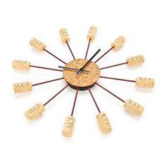 Reloj de Tapones de Corcho: