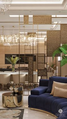 Dubai Interior Design and mid-century modern lighting ideas from DelightFULL   http://www.delightfull.eu/   modern interior design, interior design, design trends, luxury lighting, mid-century lighting, decoration, decorating ideas, living room ideas, dining room ideas, dubai design interior