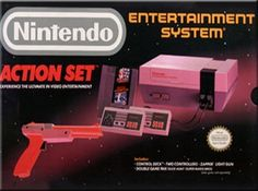 Complete in Box Original Nintendo Entertainment by BoardsofBeauty