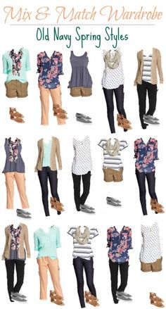 Old Navy Mix Match Wardrobe