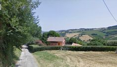Property in Italy for Sale, le Marche. Rustico Offagna Asking Price: €500,000  7797 - OFFAGNA - Renovated farmhouse of 220 sqm on two levels with enclosed courtyard of approximately 2000 square meters.