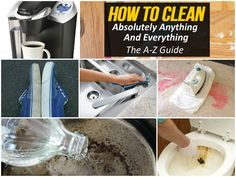 How To Clean Almost Anything