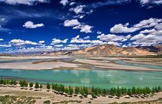 Brahmaputra River, Shigatse - Yarlung Tsangpo River - Wikipedia