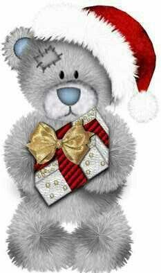 Merry Christmas Teddy Bear Quotes, Teddy Bear Images, Teddy Bear Pictures, Tatty Teddy, Christmas Paintings, Christmas Art, Teddy Beer, 2 Clipart, Teddy Bear Design