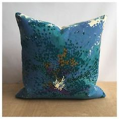 Cushion Cover Vintage 60s Sunny Day Fabric By Margaret Bonito For Heals | eBay