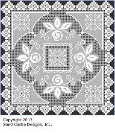 Pattern J: Spring Roses