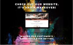 Our latest BLOG! - 'Check Out Our Website. It's Had A Makeover!'