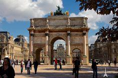 Musee du Louvre via Arc de Triomphe du Carrousel - http://300stations.com/2013/03/musee-du-louvre-via-arc-de-triomphe-du-carrousel/  Photos from in and around Paris, France.