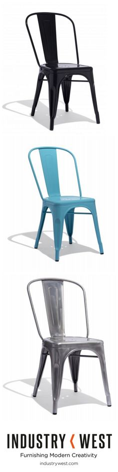 Shop a selection of modern Tolix and metal bistro style chairs, stools, and tables. Buy now or call Take A Seat, My Dream Home, Home Projects, Home Kitchens, Kitchen Remodel, Home Accessories, Farmhouse Decor, Kitchen Decor, New Homes