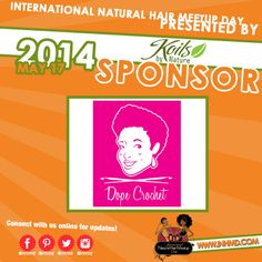 #DopeCrotchet #INHMD presented by #KoilsByNature would like to welcome #DopeCrochet as a 2014 #INHMD sponsor! We are excited to have you as a sponsor. #INHMD #KoilsByNature #NaturalHairEvents #DopeCrochet #TeamNatural #NaturalHair @Dope Crochet #May17th #INHMDSponsor Visit www.inhmd.com for more details