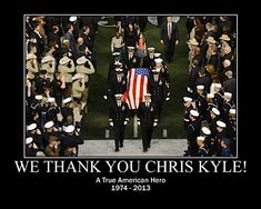 God bless Chris and his family. And God Bless America. -