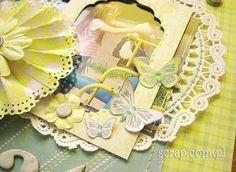 Motyle wycięte z papierów kolekcji radość lata