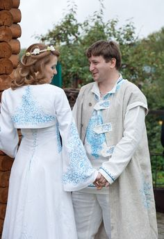Russian wedding in the village. Russian Love, Russian Style, Russian Wedding, Russian Brides, Russian Culture, Geek Wedding, Russian Fashion, Historical Costume, Wedding Wishes