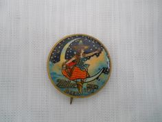 Vintage Miller High Life Pin - collectible, jewelry, pins by DEWshophere on Etsy