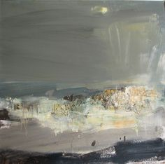 Joan Eardley ( 1921 - Summer Grasses and Barley on the Clifftop The Wave Seascape . Contemporary Landscape, Abstract Landscape, Contemporary Abstract Art, Seascape Paintings, Landscape Paintings, Art Moderne, Claude Monet, Gouache, Painting Inspiration