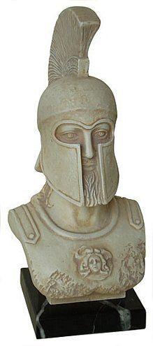 Bust of Leonidas - Archaeological Museum, Sparta, 5th century B.C.,  Sculpture &
