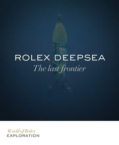 The ultimate diving watch, the Oyster Perpetual Rolex Deepsea watch is designed to withstand the colossal pressure at extreme ocean depths, up to 3,900 metres (12,800 feet). #Deepsea #Exploration #RolexOfficial