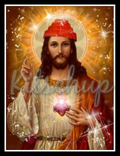 Devo Jesus prayer candle from KItschup Creations