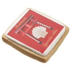 ホタテ SQUARE SHORTBREAD COOKIE - decor gifts diy home & living cyo giftidea
