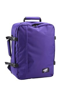 cabinzero cabin bag purple- so getting one of these. A cabin bag that complies with all UK airline restrictions, even RyanAir! Cabin Bag, Travel Items, Purple Bags, Gift Vouchers, Backpacks, My Style, Zero, Holiday Destinations, Delivery