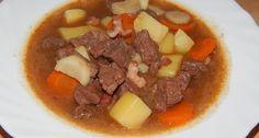 Marhagulyás recept
