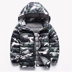 >> Click to Buy << Children Jackets Winter Boys Coats Camouflage Down Jackets For Kids Girls A+++ 2-12 Years Children Clothing winter-clothing #Affiliate