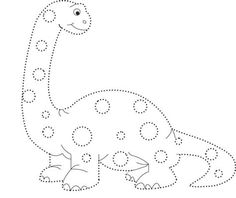 Dinosaurs Preschool, Dinosaur Activities, Kindergarten Activities, Activities For Kids, Preschool Coloring Pages, Colouring Pages, School Worksheets, Infancy, Drawing For Kids