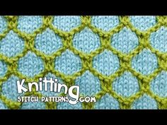 2 Color Honeycomb Knitting