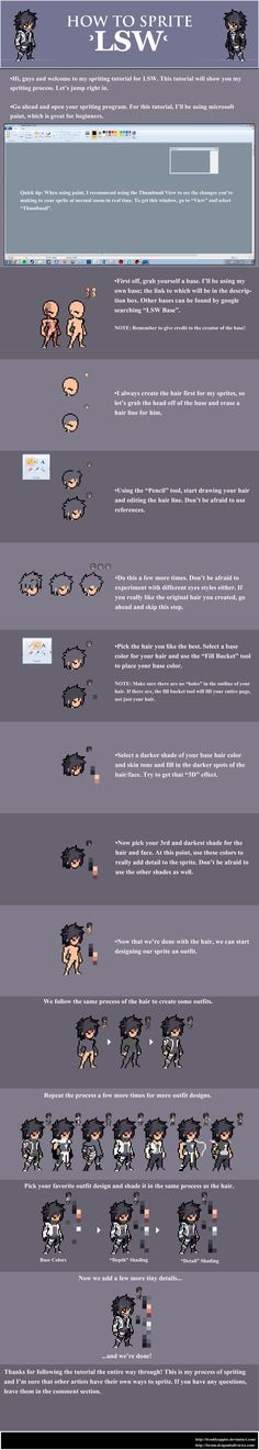 LSW Sprite Tutorial by BraddyApples.deviantart.com on @DeviantArt