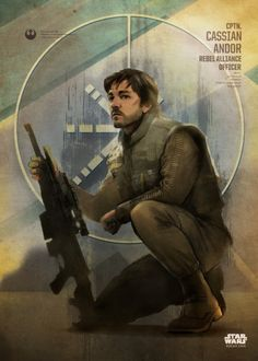 Star Wars Cassian Andor metal poster - PosterPlate posters made out of metal