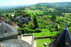 Saint-Robert Toits Paysage - France