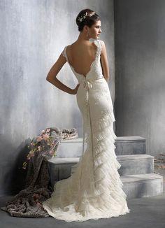 Wedding gown by Lazaro