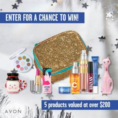 I just entered the Avon Holiday Sweepstakes for a chance to win one of eight weeks of Avon Gift Giving! Free Sweepstakes, Avon Sales, Avon Online, Avon Representative, Sign I, Free Items, Giving, Fundraising, Health And Beauty