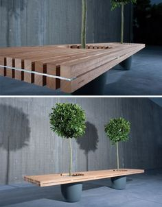 my backyard bench idea, so I can convince my husband he does not have to do much carpenter work!